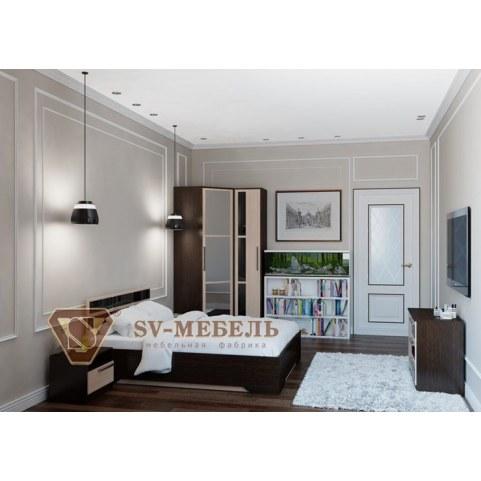 Спальный гарнитур Эдем 2, венге №2