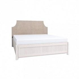 Кровать Карина 306 Люкс + Основание универсальное с гибкими ламелями (1800) Металл