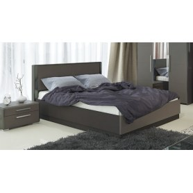 Кровать с подъемным механизмом Наоми 1600, цвет Фон серый, Джут СМ-208.01.02
