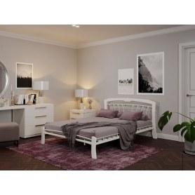 Кровать Муза 4 Лайт, 1600, белый