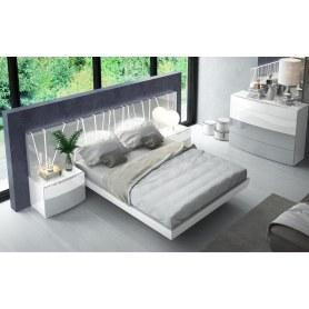 Кровать 606 VANESSA со светодиодной подсветкой (180х200)