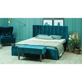 Кровать с подъемным механизмом Юнона 1600, Ягуар океан