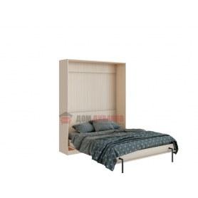 Кровать-шкаф Велена 3, 1600х2000, дуб молочный