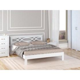 Кровать Nika-тахта, 180х200, сосна, белая эмаль