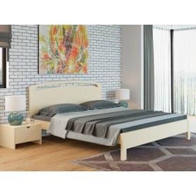Кровать Веста 1-M-тахта-R, 180х200, сосна, слоновая кость