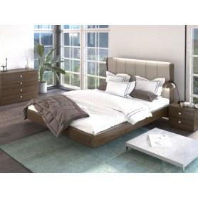 Кровать Rosso, 160х200, Madras Savanna/Дуб Тобакко
