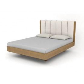 Кровать Rosso, 180х200, Madras Savanna/Бук Шервуд