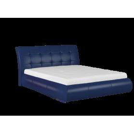 Кровать Лаура 1800 с основанием (Остин Блю)