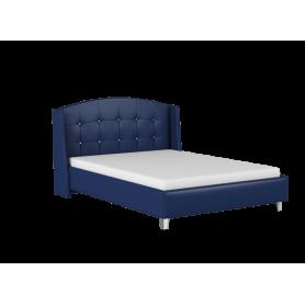 Кровать Каролина 1400 с основанием (Остин Блю)