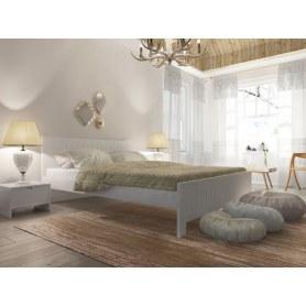 Кровать Vesna Line 3, 180х200, сосна, слоновая кость