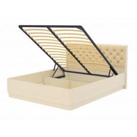 Кровать с подъемным механизмом Wood Home 3, 180х200, слоновая кость сосна/Лофти Айвори