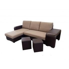 Угловой диван Янтарь
