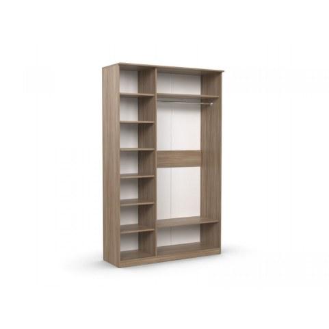 Шкаф трехдверный с зеркалом в спальню Дуэт Люкс