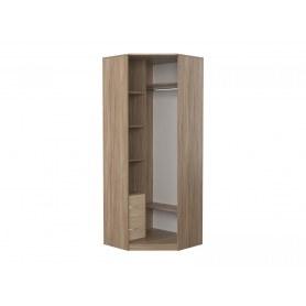 Шкаф угловой с зеркалом в спальню Дуэт Люкс