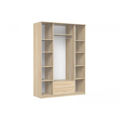 Шкаф четырехстворчатый с зеркалом в спальню Карина