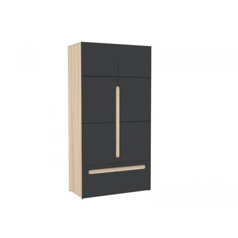 Шкаф двухстворчатый с ящиком в спальню Палермо