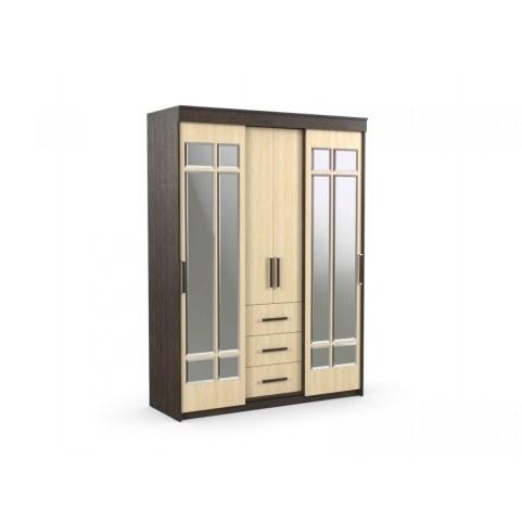 Шкаф-купе с зеркалом в спальню Комфорт