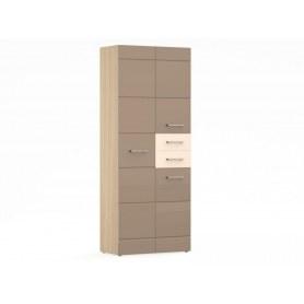Шкаф двухстворчатый с двумя ящиками в гостиную Венеция